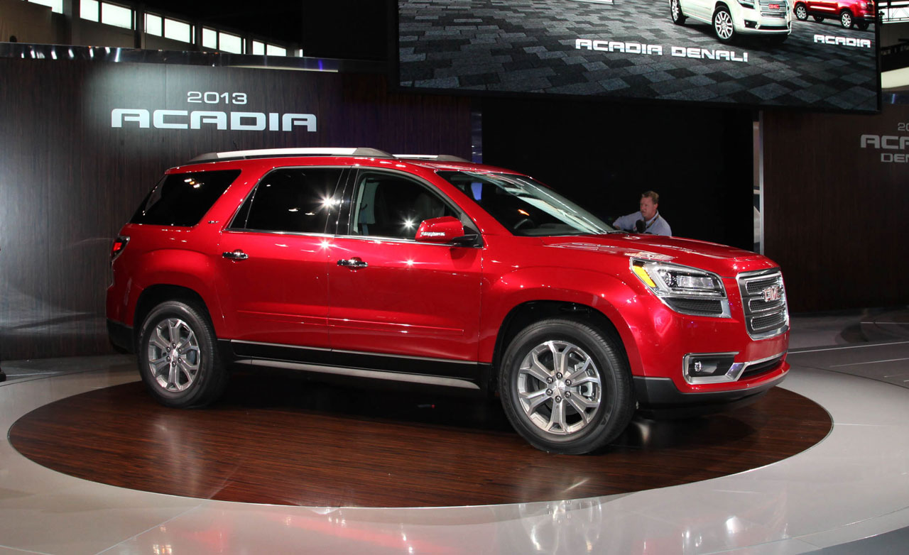 gmc acadia information and photos momentcar. Black Bedroom Furniture Sets. Home Design Ideas