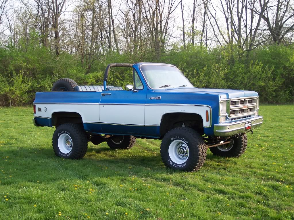 1975 Gmc Jimmy Information And Photos Momentcar