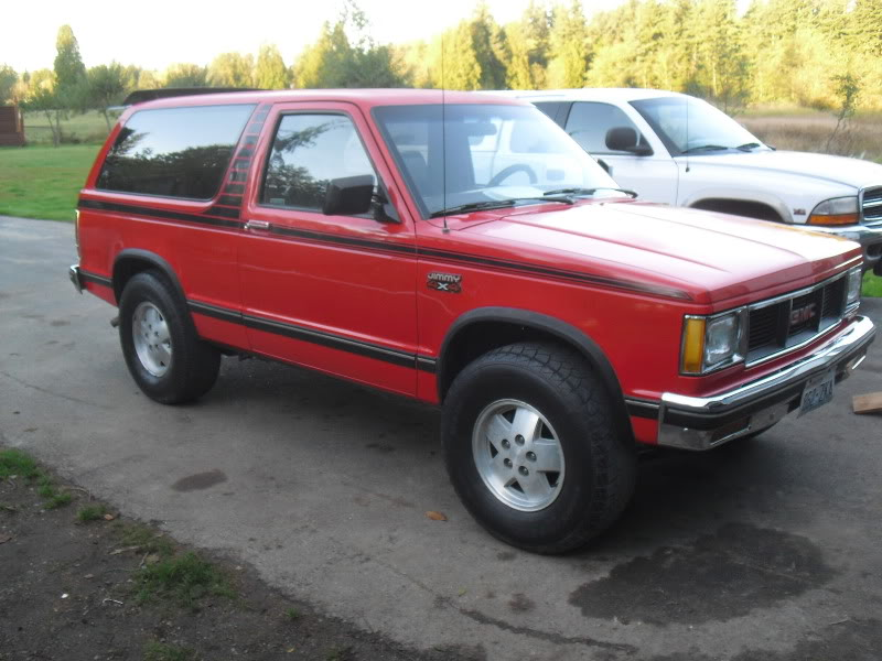 1984 Gmc Jimmy Information And Photos Momentcar