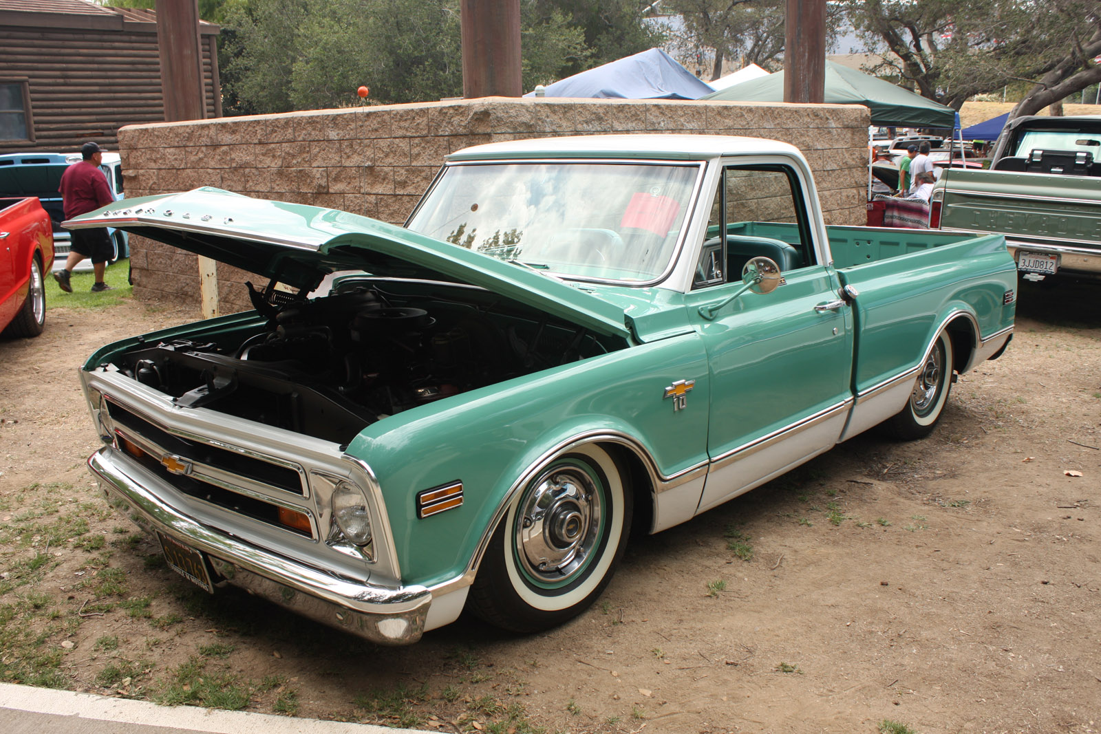 Gmc Panel 537px Image 8 1968 Chevy C10 Stepside Download