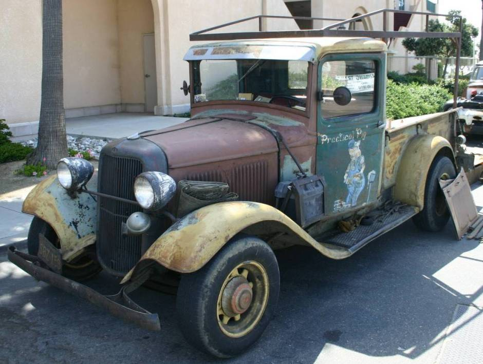 1933 GMC Pickup - Information and photos - MOMENTcar