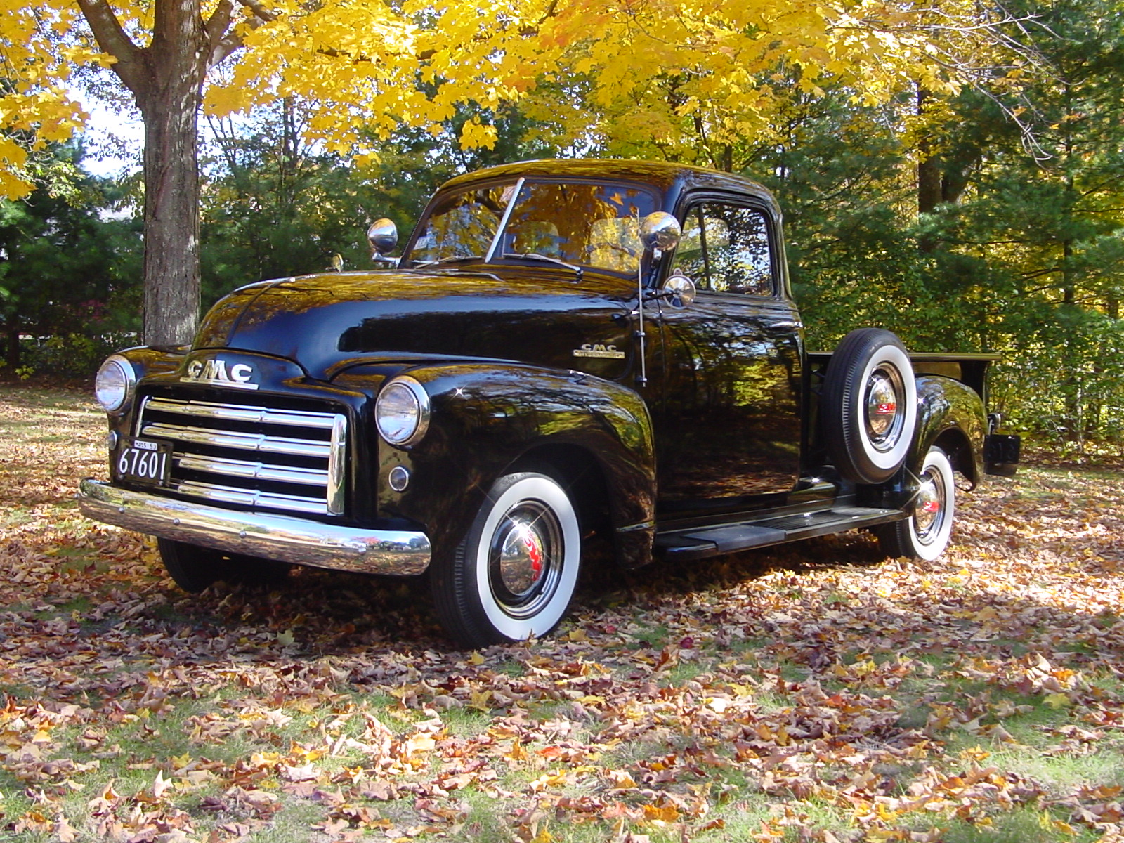 1953 Gmc Pickup Information And Photos Momentcar