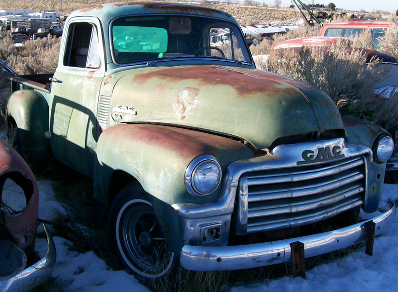 1954 Gmc Pickup Information And Photos Momentcar