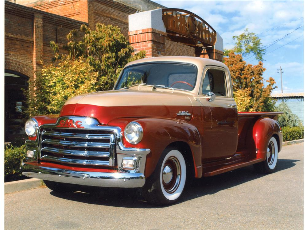 Toyota 4runner Msrp 1954 GMC Pickup - Information and photos - MOMENTcar