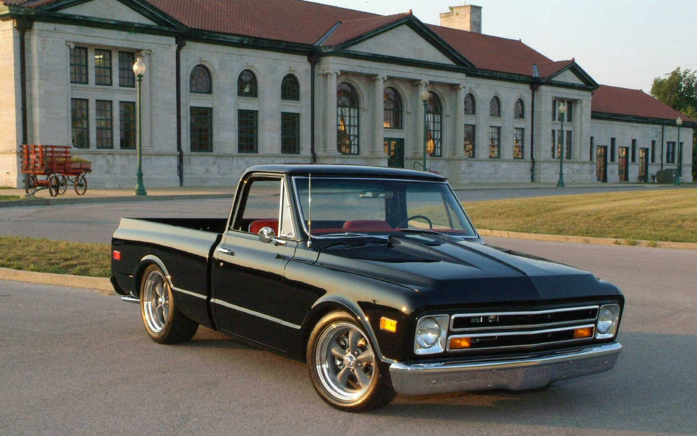 1967 Gmc Pickup Information And Photos Momentcar
