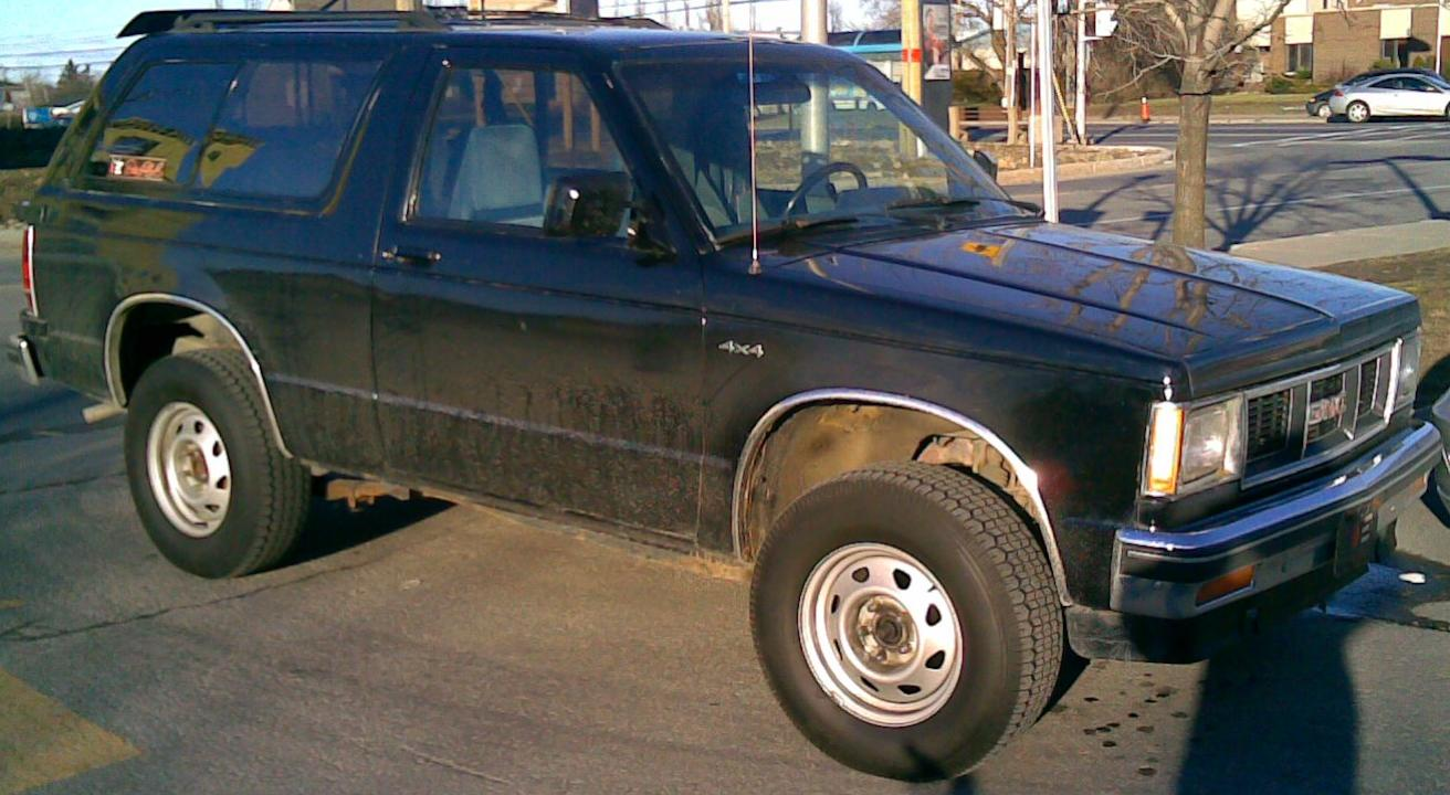 1983 Gmc S 15 Jimmy Information And Photos Momentcar