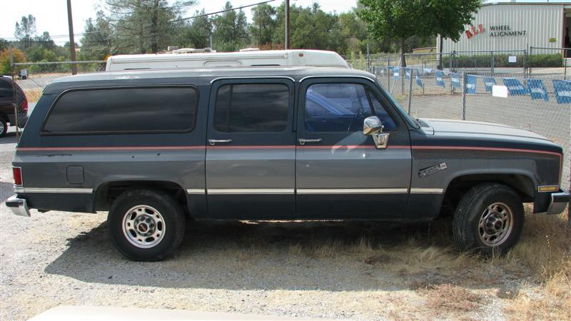 1987 Gmc Suburban Information And Photos Momentcar