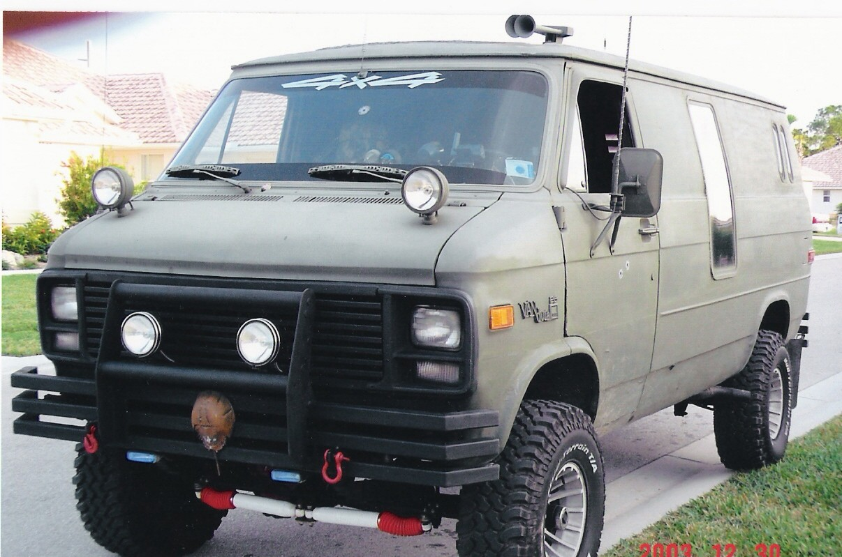 1984 Gmc Van Information And Photos Momentcar