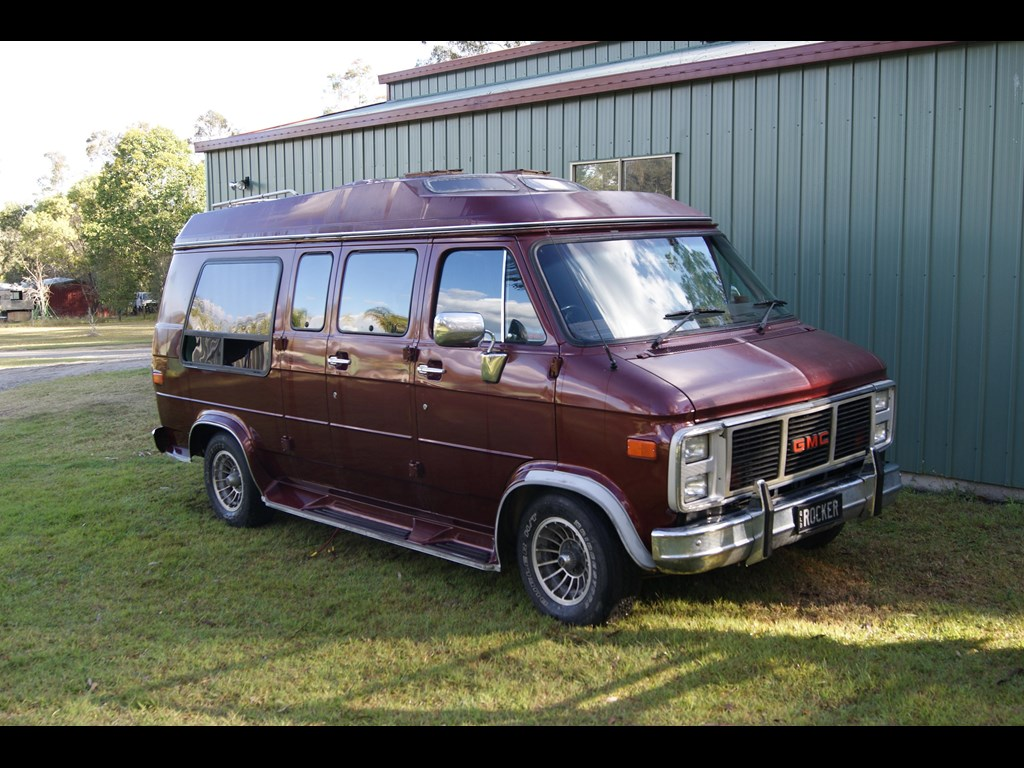 1988 gmc vandura information and photos momentcar. Black Bedroom Furniture Sets. Home Design Ideas