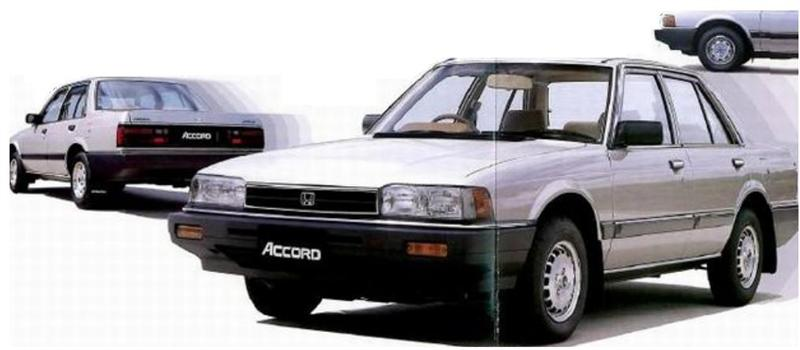 Honda Accord 1984 #11