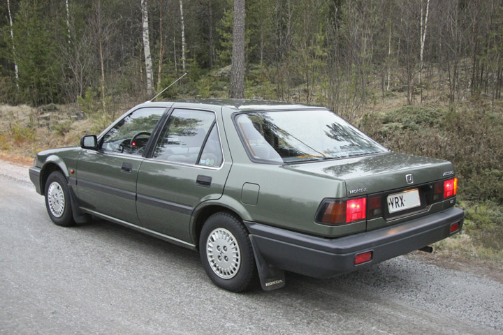 1986 Honda Accord - Information and photos - MOMENTcar