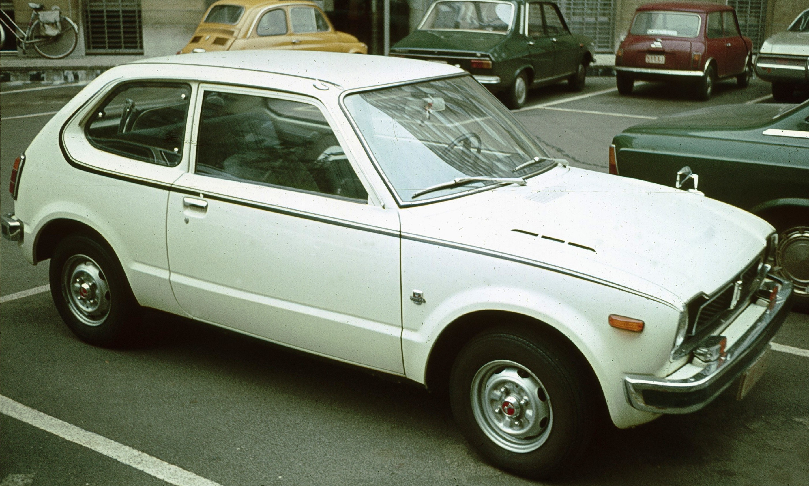 1974 Honda Civic Information And Photos Momentcar