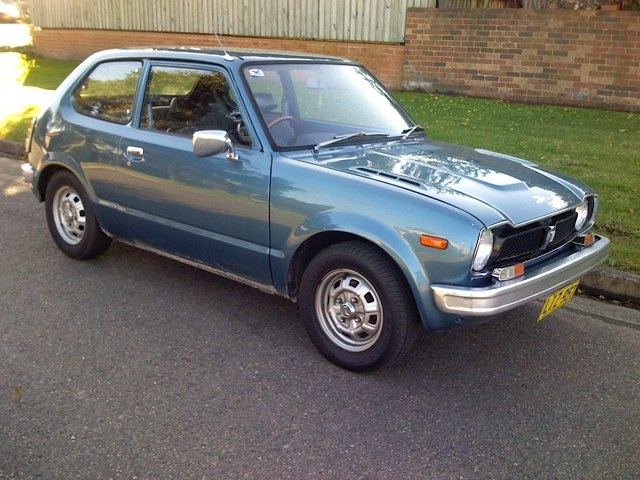 1975 Honda Civic Information And Photos Momentcar