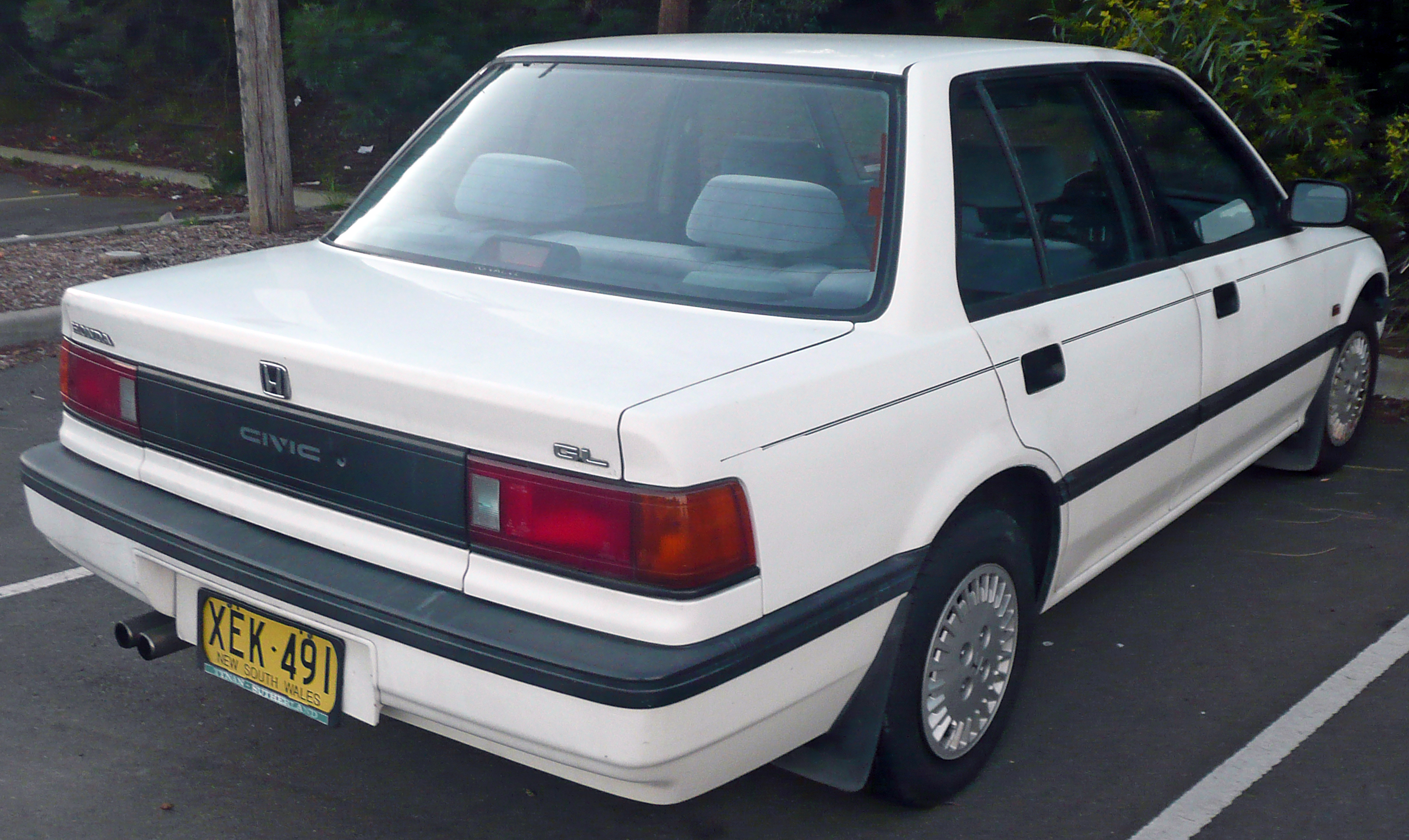 1987 Honda Civic Information And Photos Momentcar