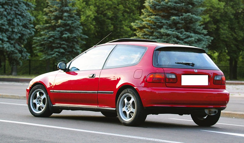 Honda Civic 1992 #8