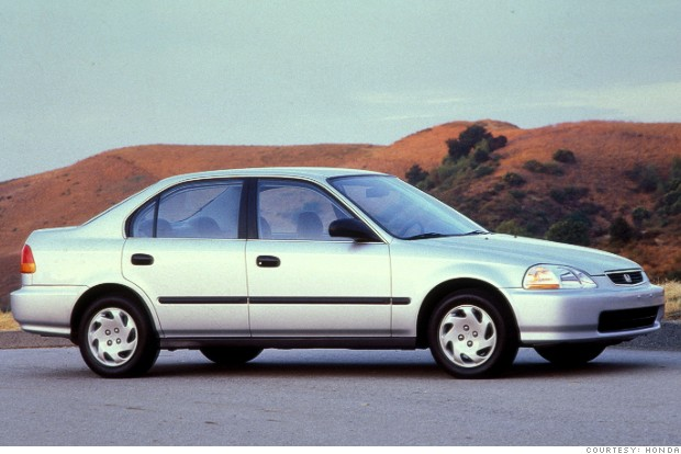 Honda Civic 1998 #4