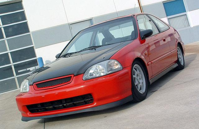Honda Civic 1998 #8
