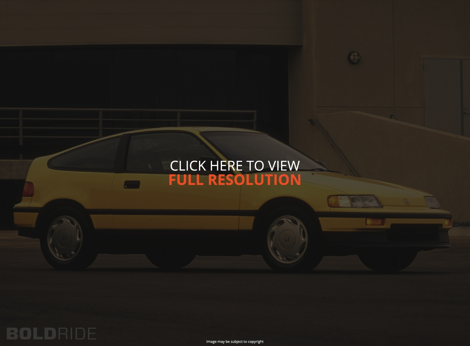 Honda Civic CRX #3