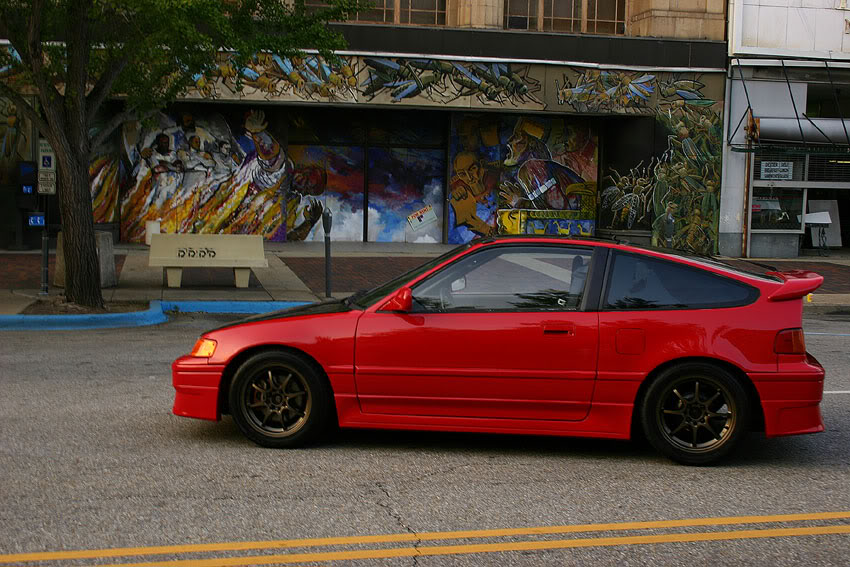 Honda Civic CRX #5