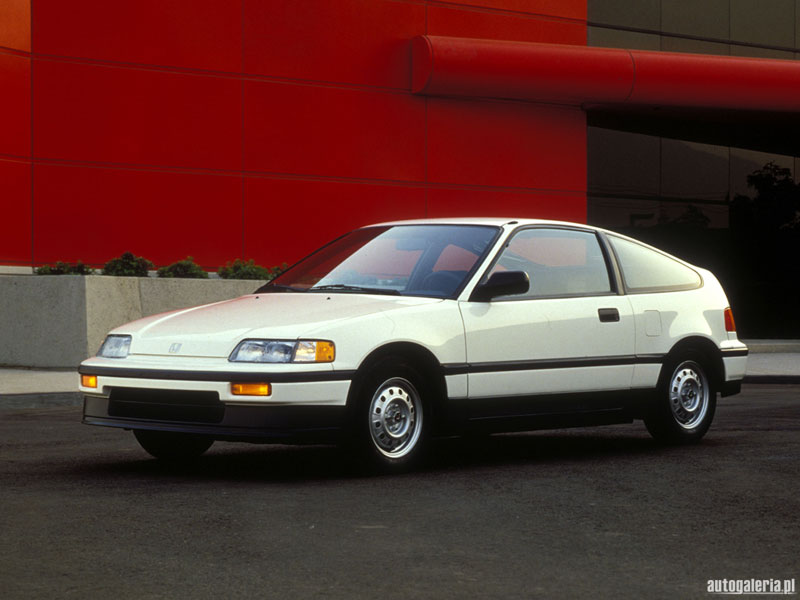 Honda Civic CRX HF #11
