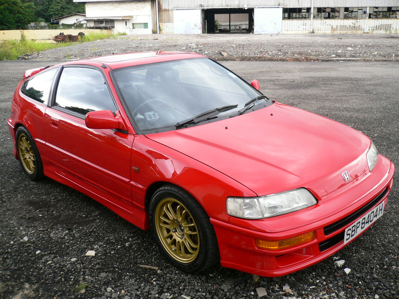 Honda Civic CRX Si #9
