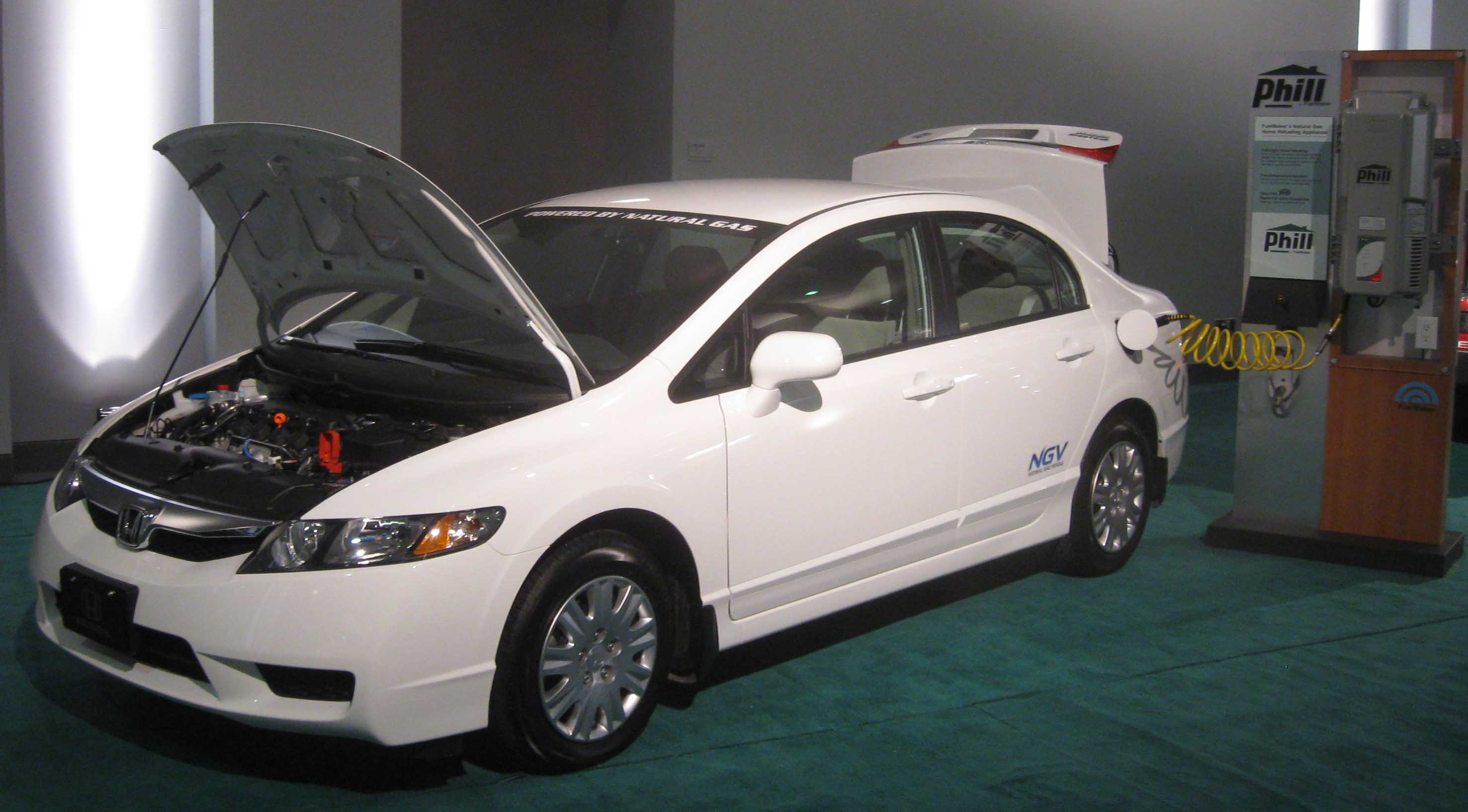 Honda Civic GX #13