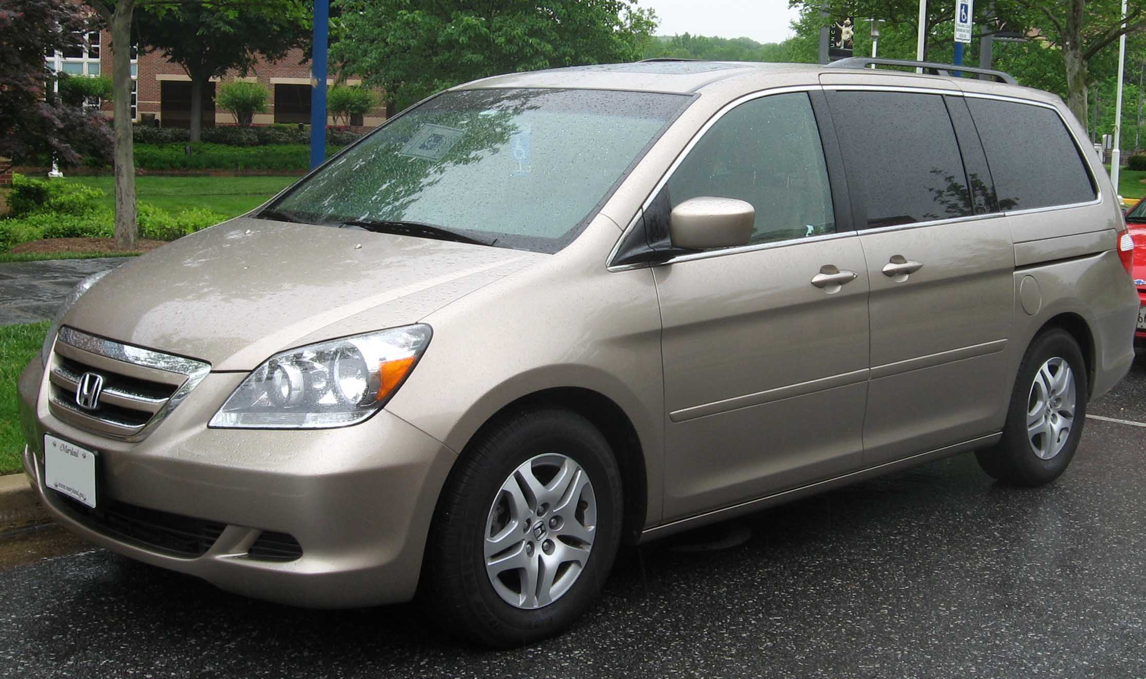 2005 Honda Odyssey Information And Photos Momentcar