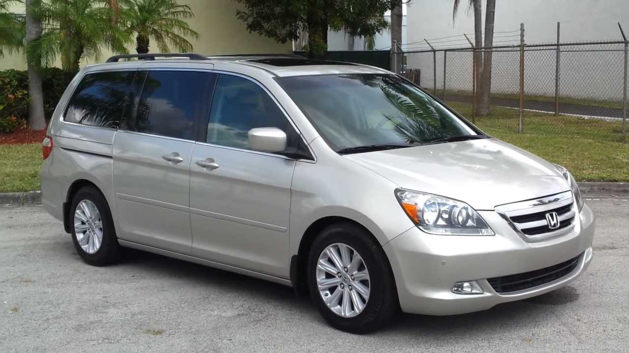 2006 Honda Odyssey Information And Photos Momentcar