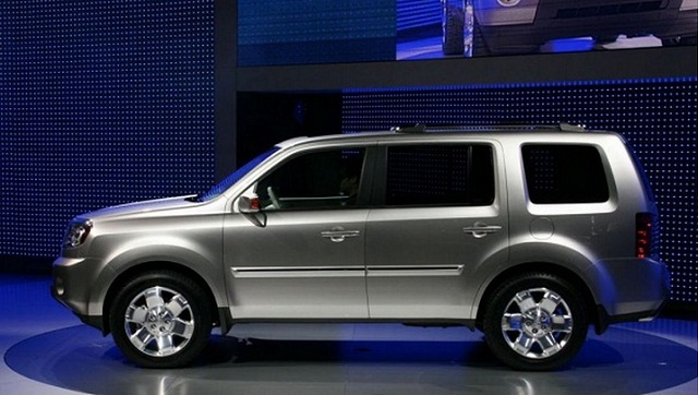 2014 honda pilot information and photos momentcar. Black Bedroom Furniture Sets. Home Design Ideas