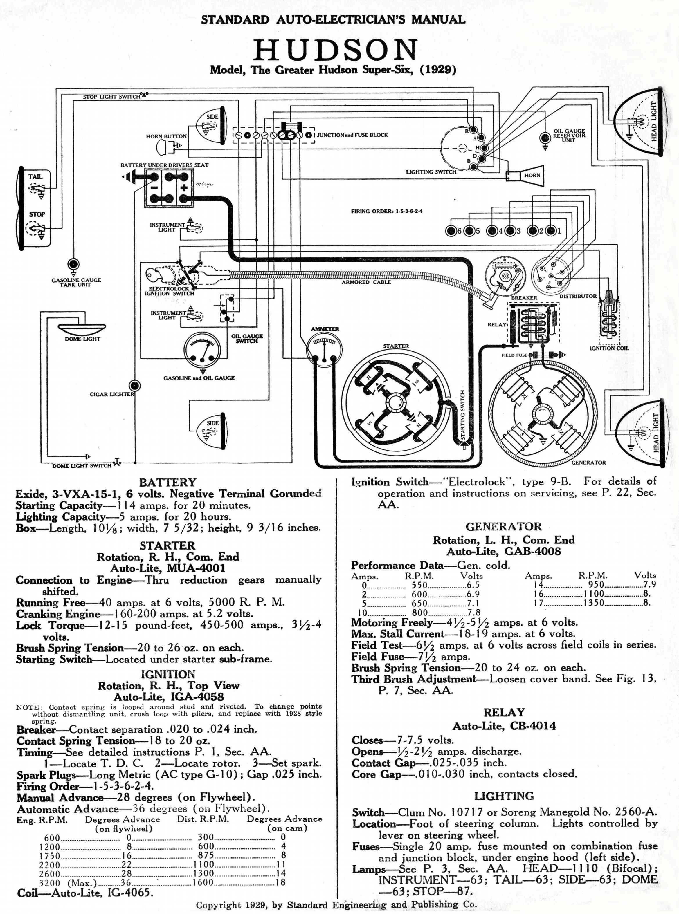 Hudson Challenger Eight on 1949 chevy wiring diagram