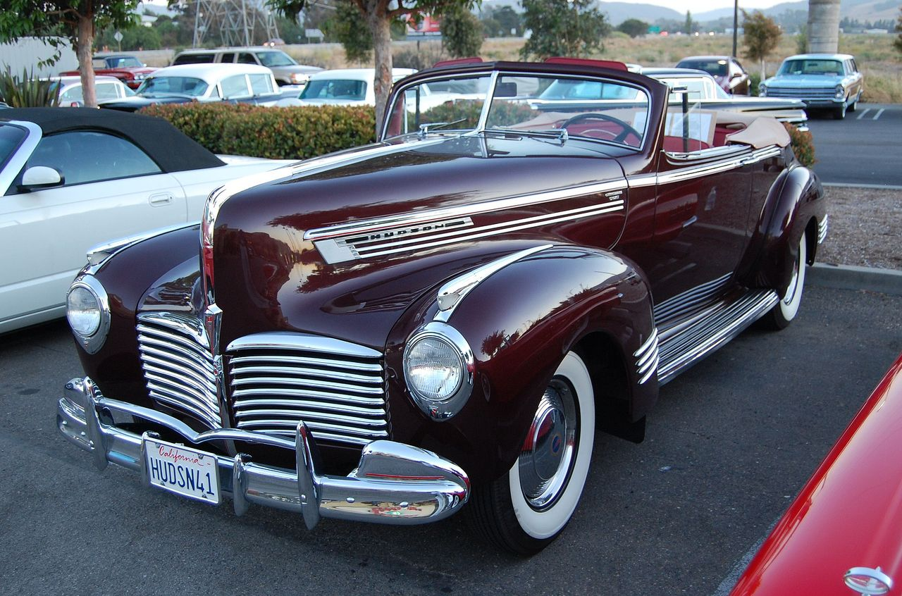 1941 Hudson Commodore Information And Photos Momentcar