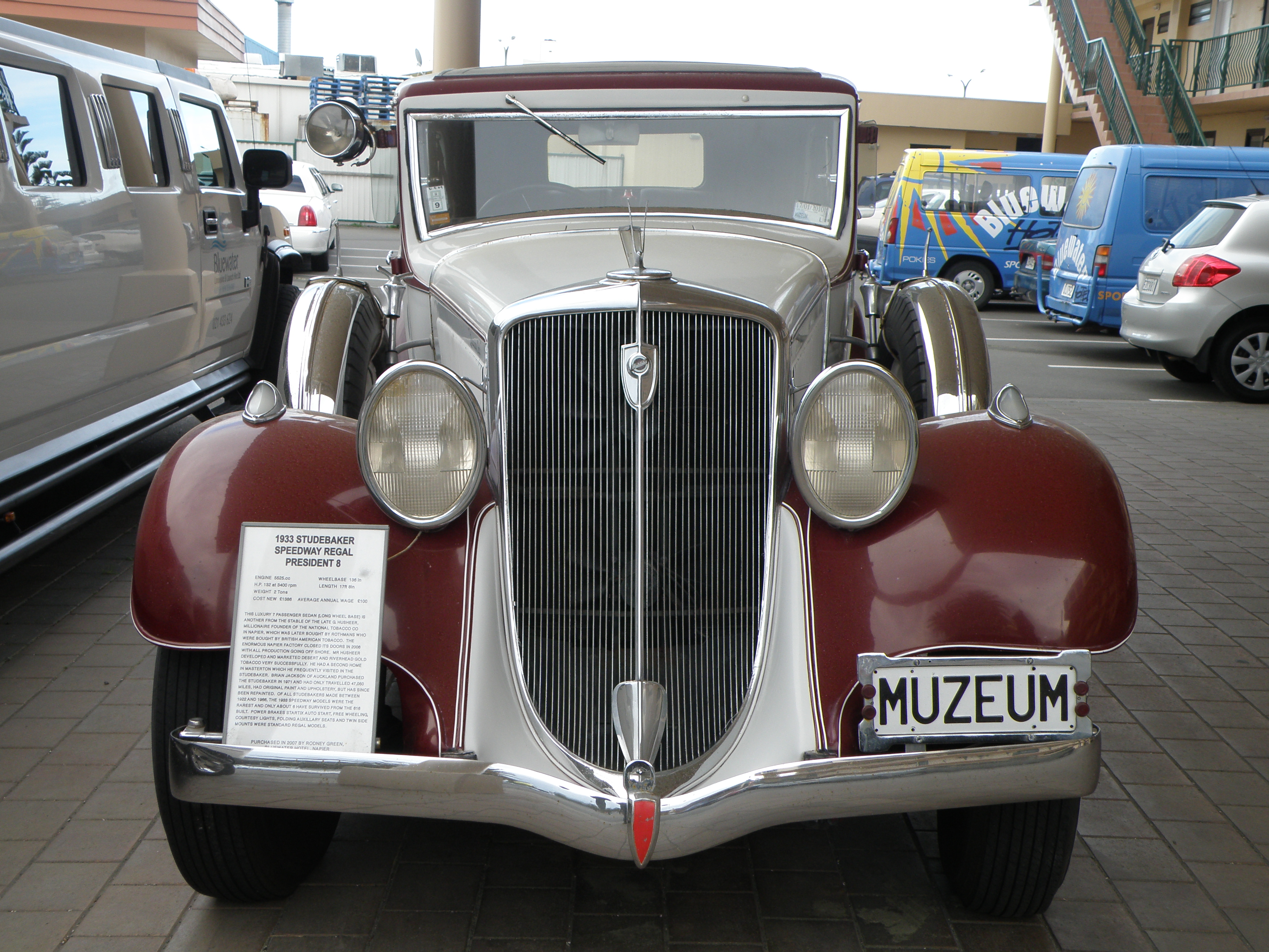 Hudson Pacemaker 1933 #8