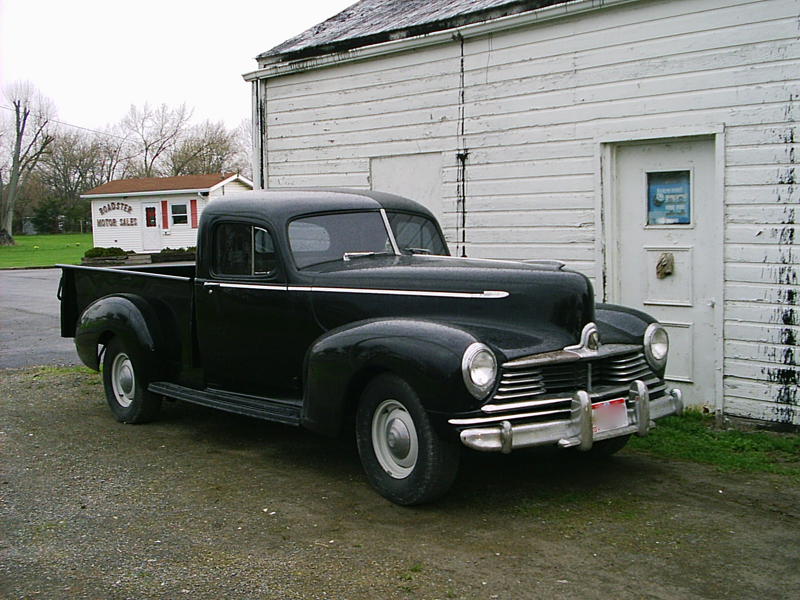 Curbside Classic: 1946 Hudson Pickup (with a surprise!)
