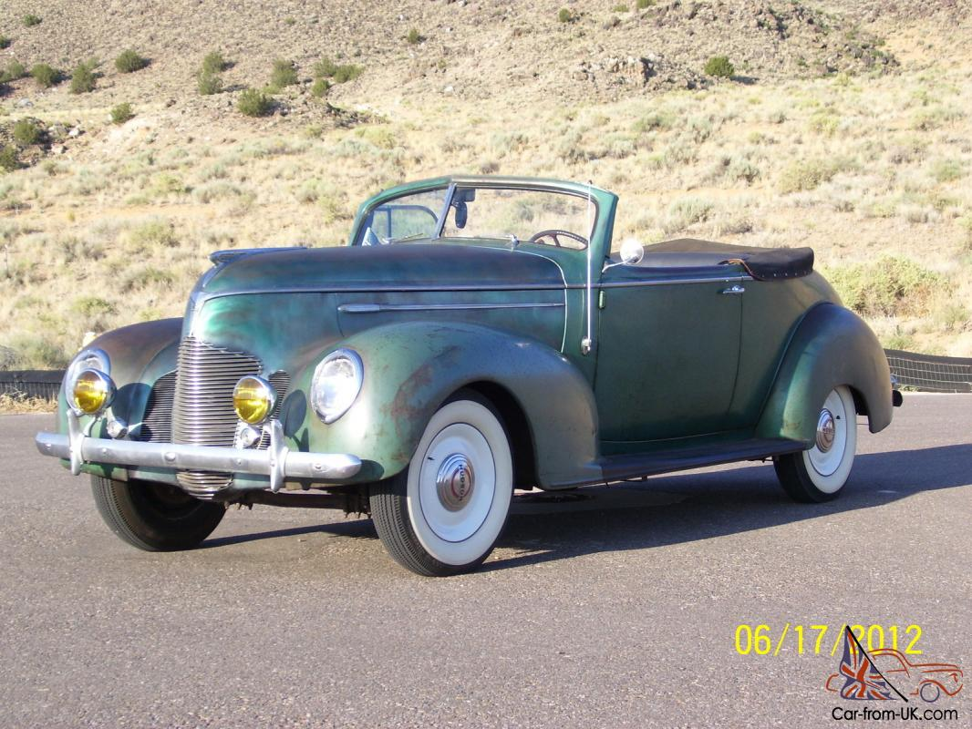 Dashboard 1939 Hudson Convertible Coupe Www Topsimages Com