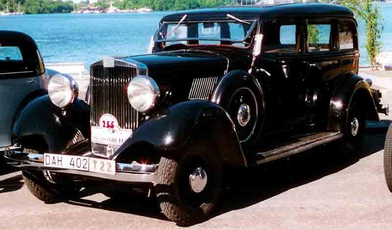 Hupmobile Series 417-W 1934 #3