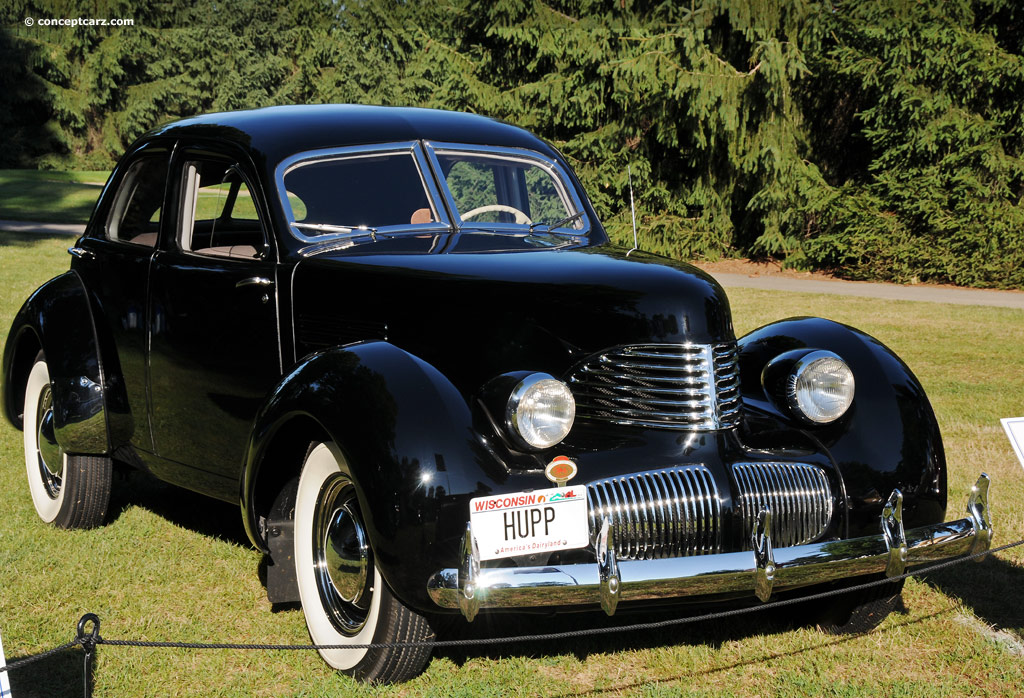 Hupmobile Series 822-E 1938 #10