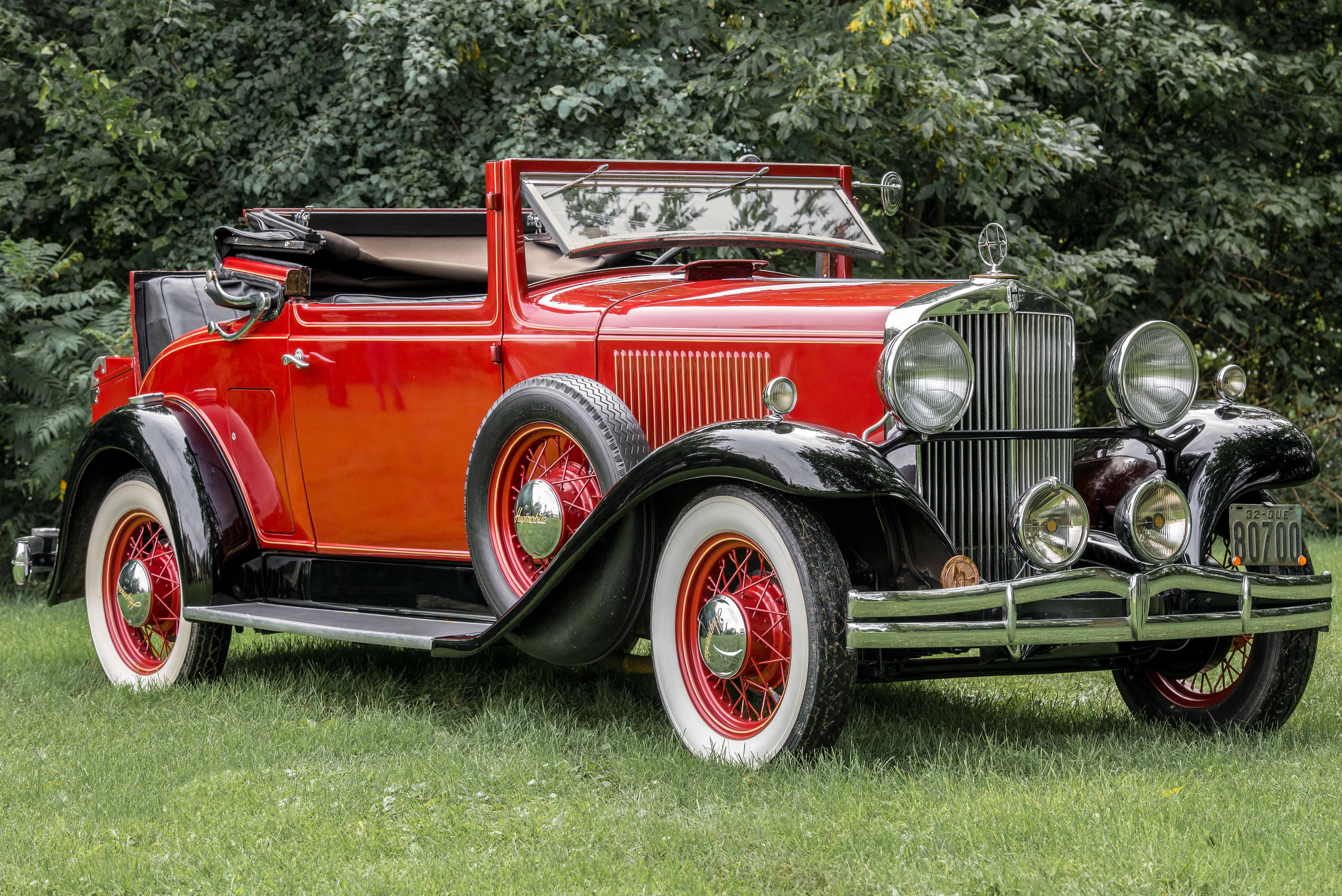 Chevrolet Latest Models >> 1932 Hupmobile Series B-216 - Information and photos ...