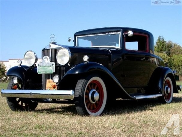 Hupmobile Series F-322 #9