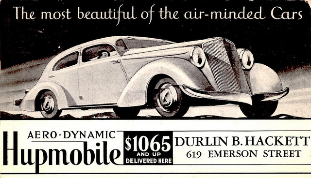 Hupmobile Series K-421 1934 #6