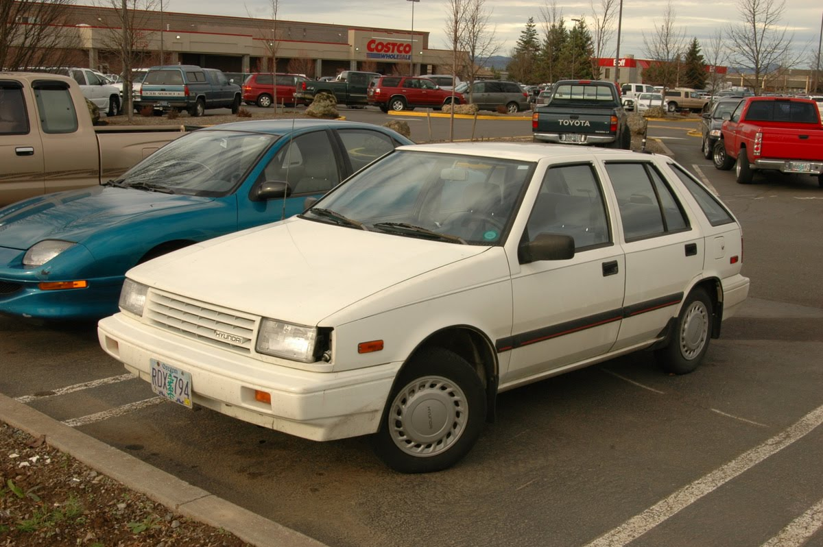 Subaru Older Models >> 1986 Hyundai Excel - Information and photos - MOMENTcar