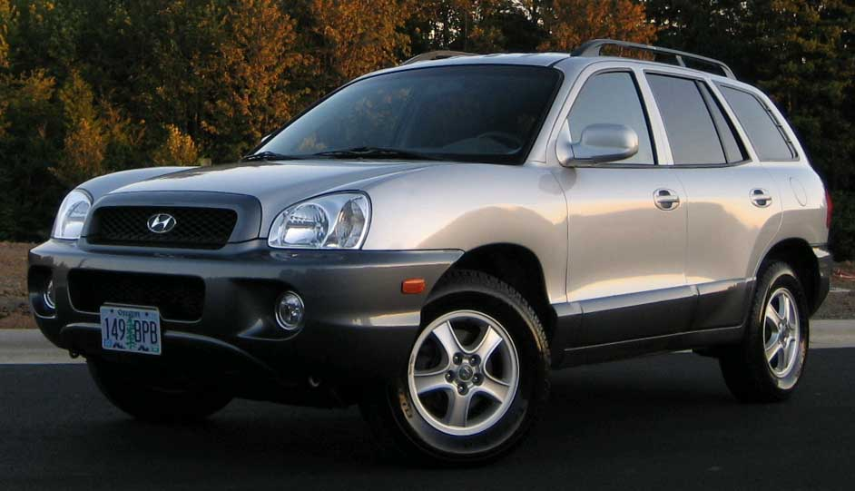 2003 hyundai santa fe information and photos momentcar. Black Bedroom Furniture Sets. Home Design Ideas