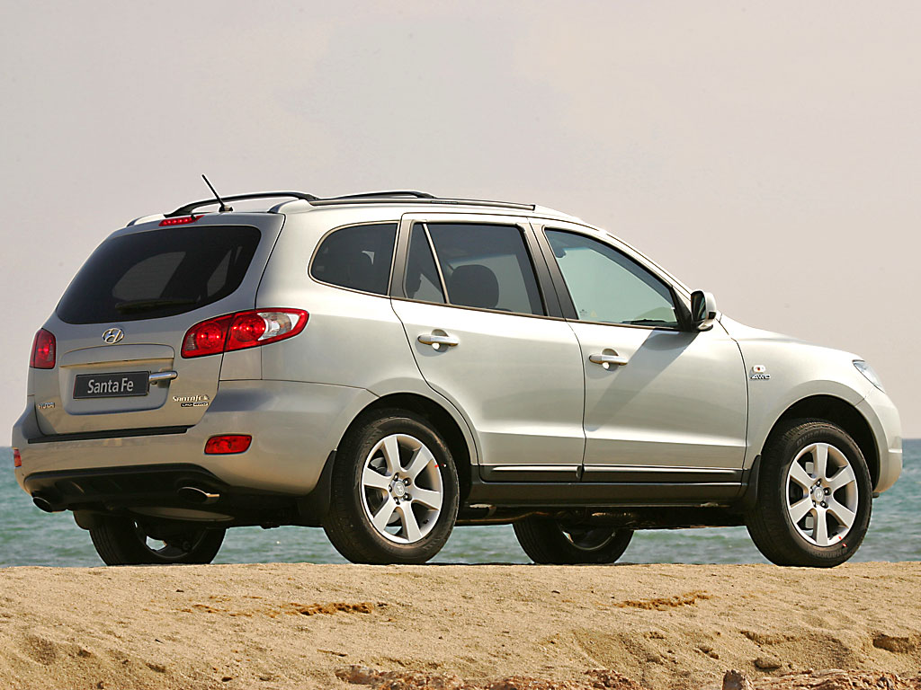 2008 hyundai santa fe information and photos momentcar. Black Bedroom Furniture Sets. Home Design Ideas