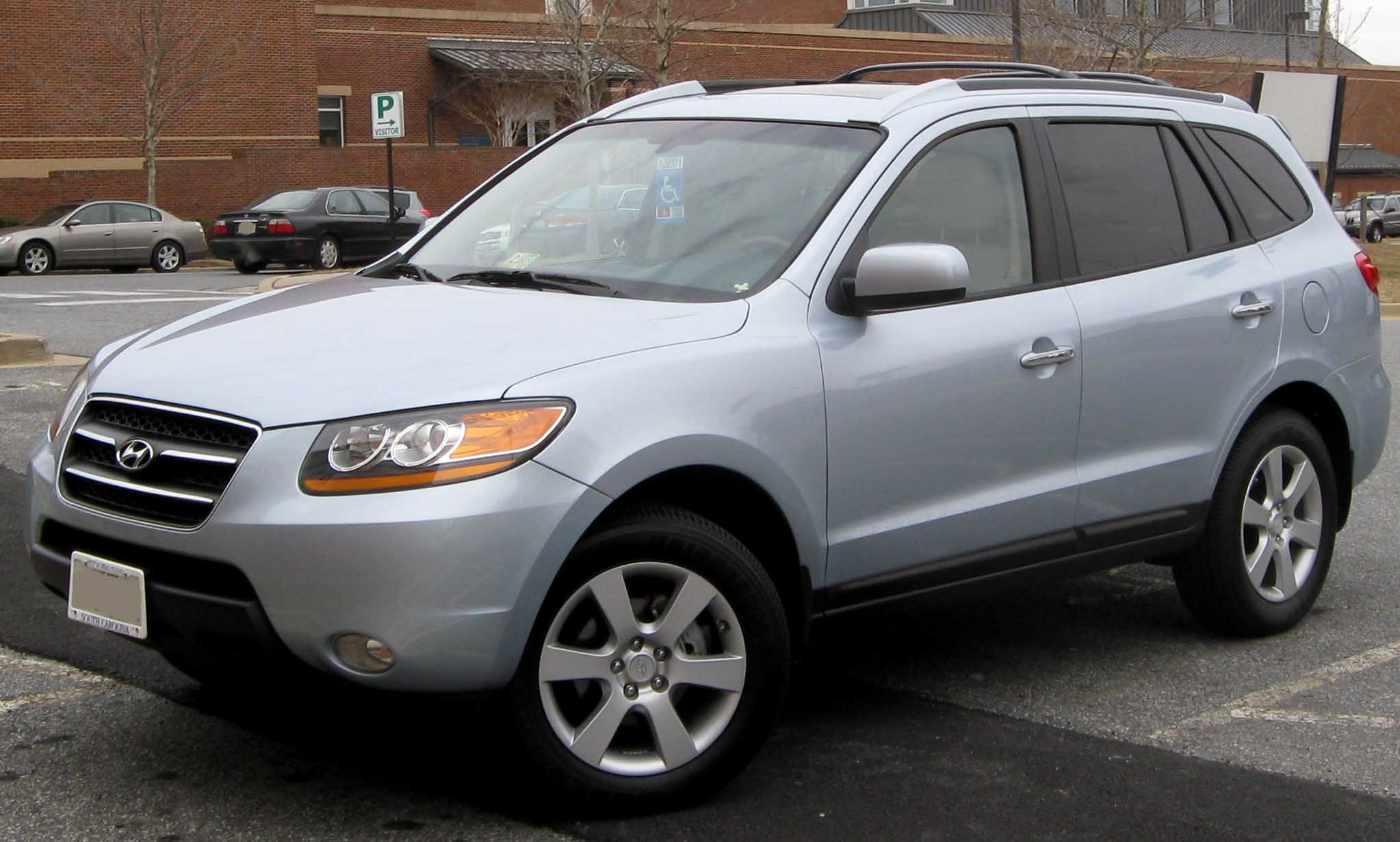 2009 Hyundai Santa Fe Information And Photos Momentcar
