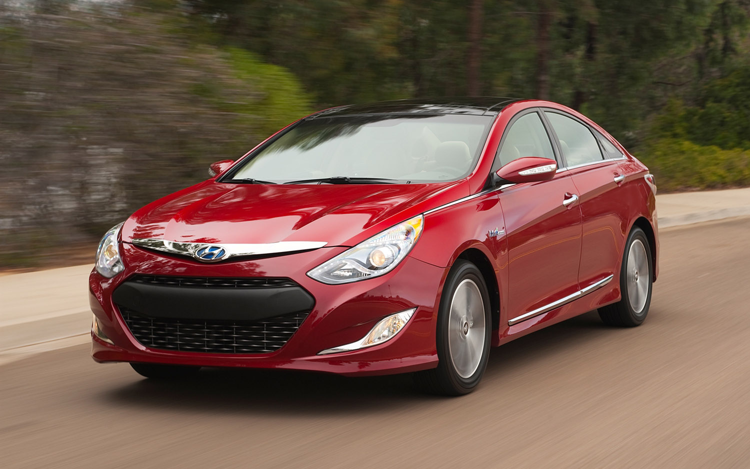 2013 hyundai sonata hybrid information and photos momentcar. Black Bedroom Furniture Sets. Home Design Ideas