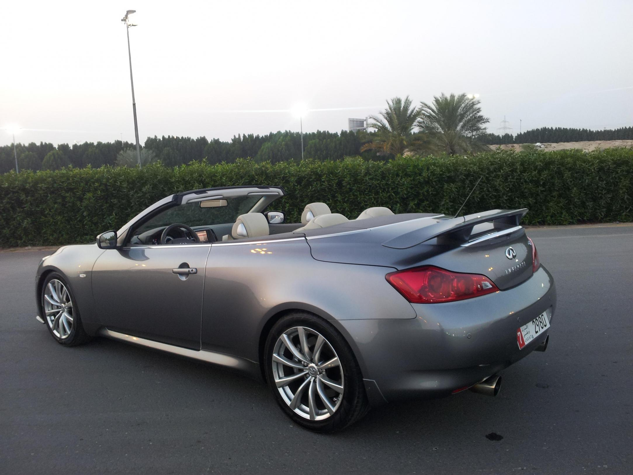 informations articles convertible infinity infiniti makes photos