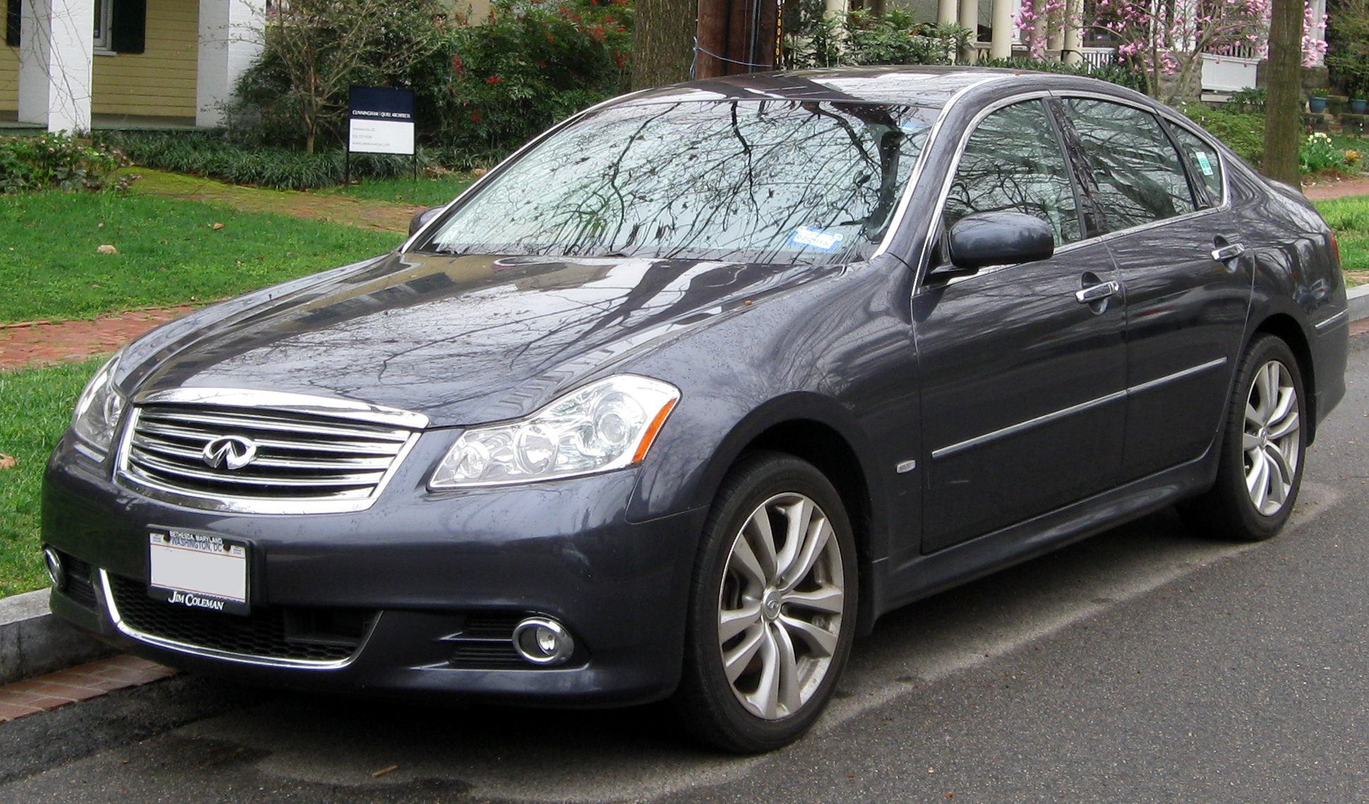 Ford lincoln of franklin 2008 infiniti m35 information and photos momentcar