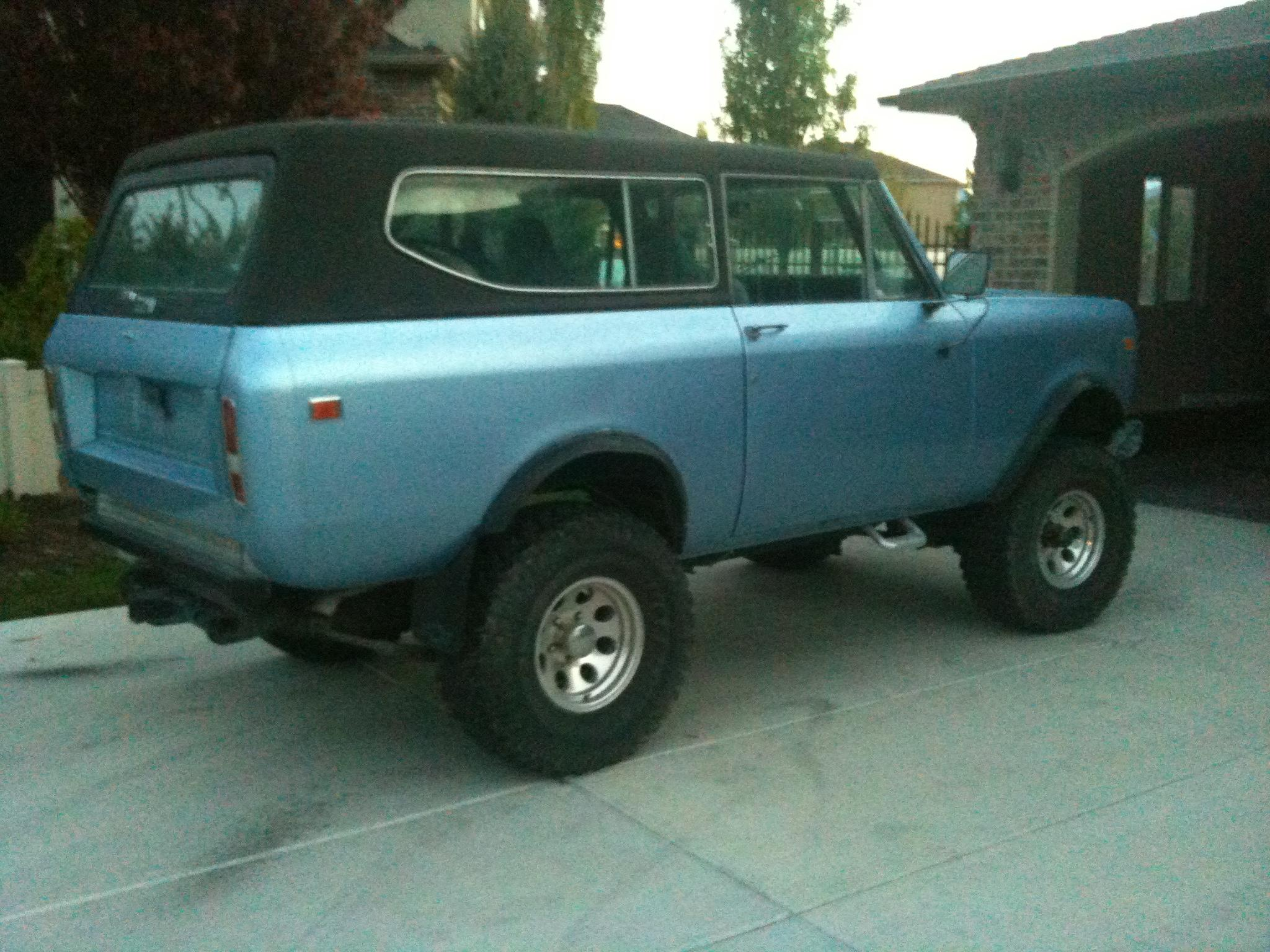 International Scout 1978 #15