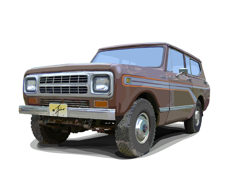 International Scout 1980 #11