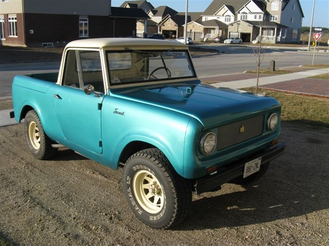 1963 International Scout 80 Information And Photos