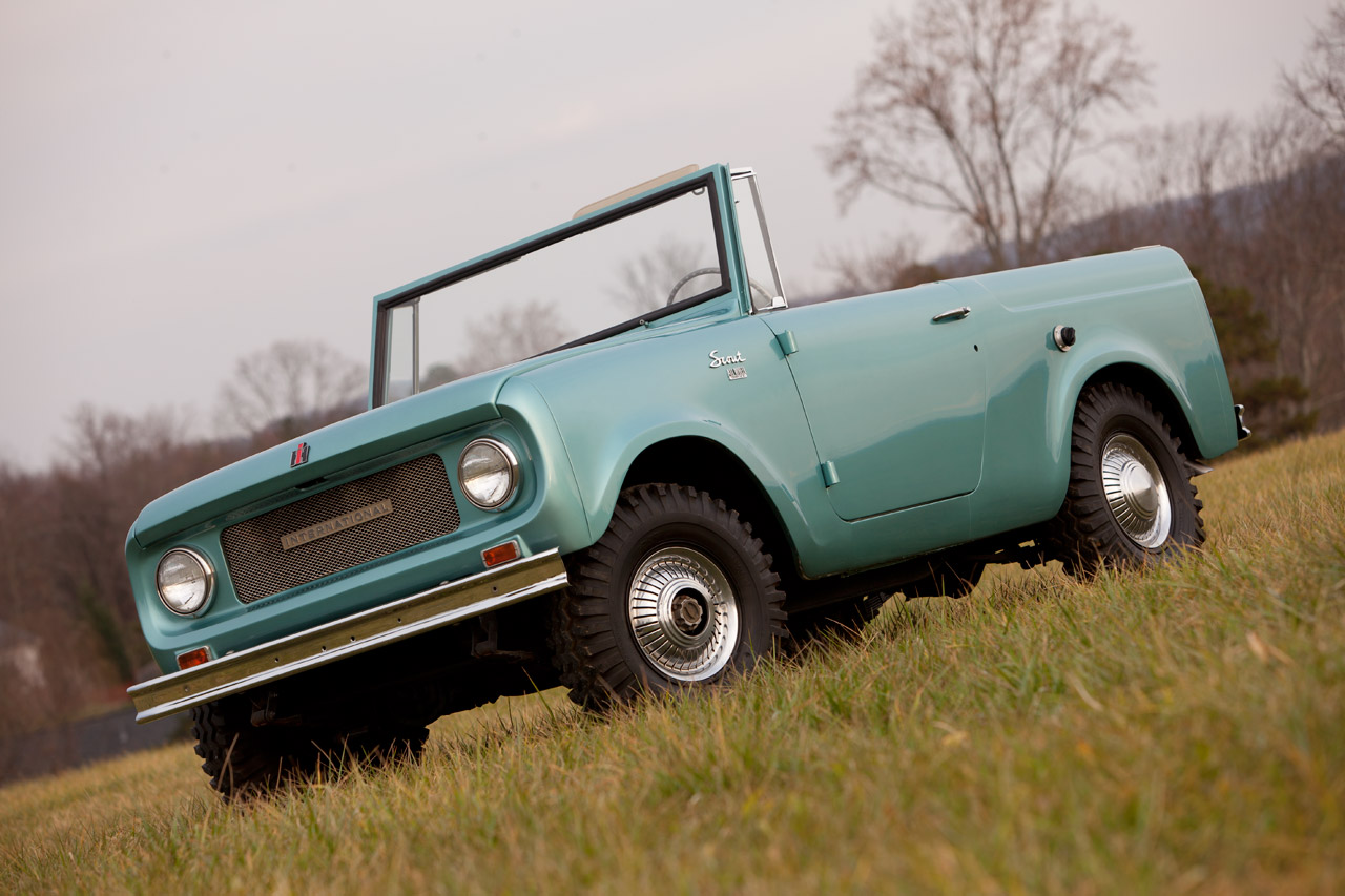 Vintage Monday: 1961 To 1971 International Harvester Scout - Off ...